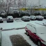 Schnee in Karlsruhe